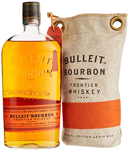 Bulleit Bourbon Special Edition Lewis Bag Frontier Whiskey (1 x 0.7 l)