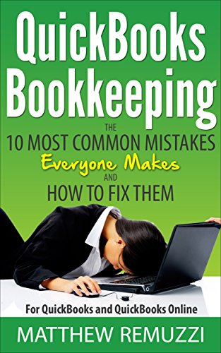 Download [PDF] QuickBooks Bookkeeping: The 10 Most Common