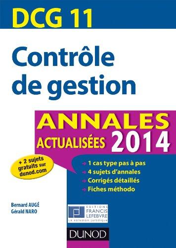dcg-11-contrle-de-gestion-2014-6e-d-annales-actualises-dcg-11-contrle-de-gestion-dcg-11