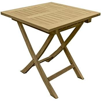 Schon Garden Pleasure Teak Gartentisch Solo 70x70 Garten Holz Esstisch Tisch  Klappbar