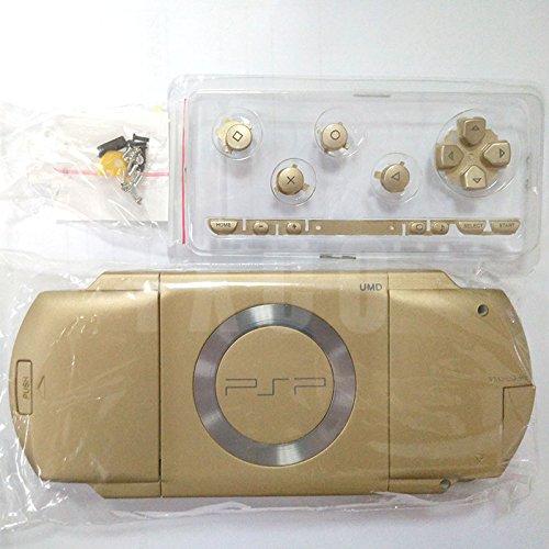 Ersatz Full Gehäuse Schale Schutzhülle mit Tasten Schrauben für PSP 1000psp1000-gold