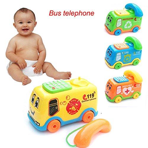 Spielzeugen, mamum Baby Musik Cartoon Handy Educational Entwicklung Kinder Spielzeug Geschenk neue Einheitsgröße a (4-yr Alten Mädchen Spiele)