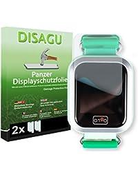 Disagu Anio 3 Touch Displayschutzfolie - 2 x Panzerfolie für Anio 3 Touch Bruchschutzfolie (verkleinerte Folie)