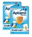 Aptamil Kinder-Milch 1+ ab dem 12. Monat, 2er Pack (2 x 600g)