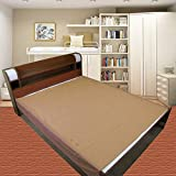 #5: Good Luck a to z born baby items™ Baby Waterproof Plastic Sheet Single Bed/Baby-Adult Waterproof Protection Sheet for Mattress (6.5 feet x 4.5 feet) (Golden Brown)