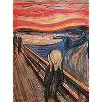 Impresión sobre lienzo (Canvas Prints) Edvard Munch The Scream tamaño: 60x 80cm