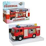 Pompiers - Voiture L'incendie du Véhicule Équipe avec la Lumière, le Son & Retreat