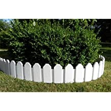 BORDE LIMITADOR PARA JARDIN - BLANCO - 2.36 m - INTERHOME©