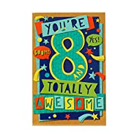 8th Birthday Card - Birthday Card Aged 8 - Aged 8 Birthday Card - Birthday Card Boys - Birthday Card Girls - Aged 8 Birthday Gifts - Birthday Gift Card - Gift Card for Kids