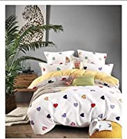AMH King Bedding Set, 6 Pieces, Multi-colored - 200 x 200 cm