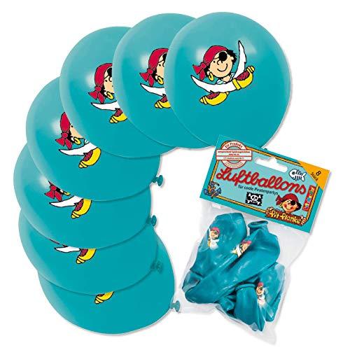 Lutz Mauder Pirate Pit 66012 - Juego de 40 globos para fiestas de cumpleaños infantiles
