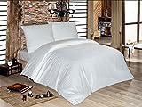 Mako Satin luxuriöse Damast Bettwäsche