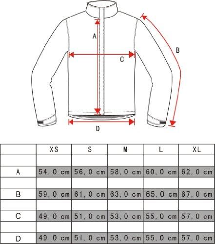 Cox Swain Damen 3 Lagen Titanium Funktions/Hardshelljacke Kabru 8.000 Wassersäule 5.000 Atmungsakt, Colour: Grey/Black - Pink Zipper, Size: XS - 5