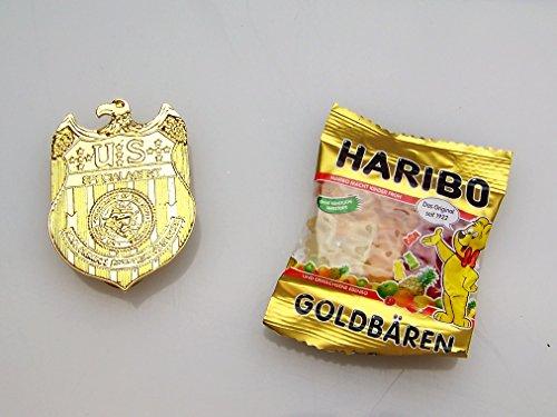 Navy CIS Spezial Agenten Marke / Badge + eine kleine Überraschung , NCIS Abzeichen , ca. 6,3 cm x 4,5 cm - ca. 41 g , Neu , Kostüm , (Ncis Kostüme Abby)