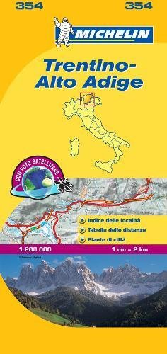 Mapa Local Italia Trentino. Alto Adige (Mapas Local Michelin)