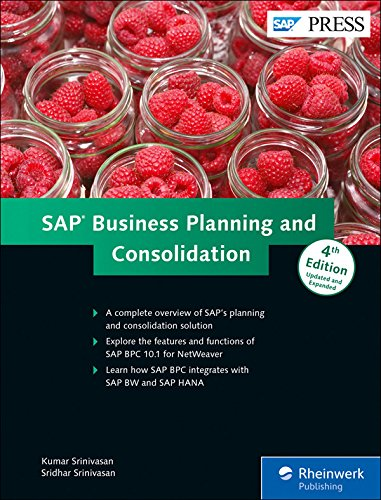 SAP Business Planning and Consolidation por Kumar Srinivasan