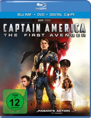 Bild von Captain America - The First Avenger [Blu-ray + DVD]