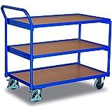 VARIOfit Tischwagen mit 3 Ebenen