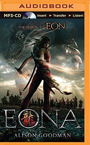 Portada del libro Eona: The Last Dragoneye by Alison Goodman (2015-08-11)
