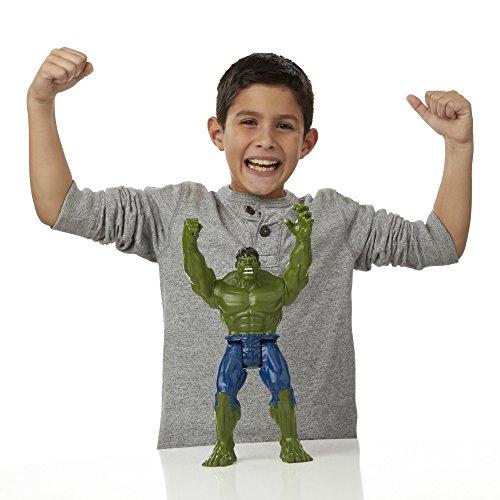 Image of AVENGERS B5772EU60 Marvel Titan Hero Series Hulk Figure