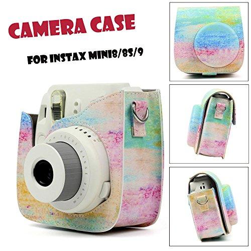 Gaddrt Symphony Camera Case Skin Hülle für FUJIFILM Instax Mini 8 Mini 8/9 Kamerahülse