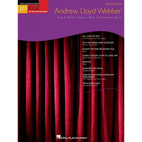 Andrew Lloyd Webber Songbook: Pro Vocal Women's Edition Volume 10 (Hal Leonard Pro Vocal)