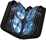 Hama CD wallet for storing 64 CDs/DVDs/Blu-rays, black,00011616