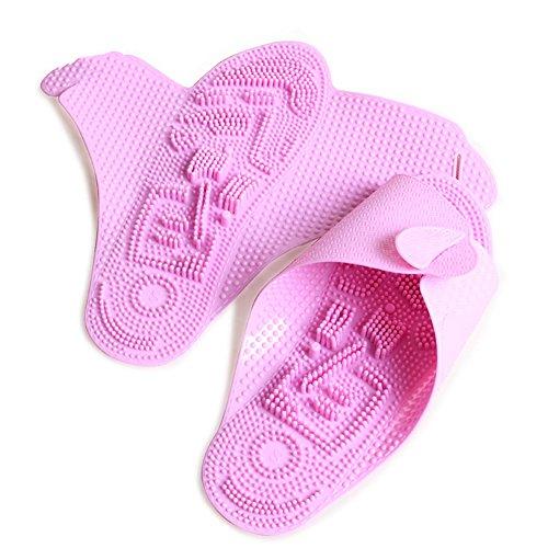 Meta-U Portable Fuß Massieren Pantoffeln / Sandalen / Schuhe / Schuhe FÜR Haus / BÜRo / Hotel / Reisen Rosa
