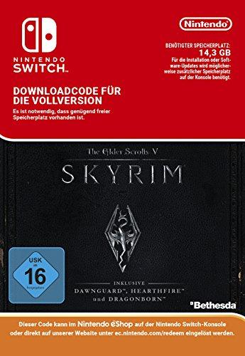 Skyrim | Switch - Download Code - Pc Download Scrolls Elder Skyrim