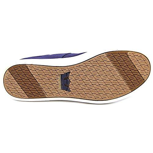 Supra Stacks II Toile Chaussure de Basket Navy-White