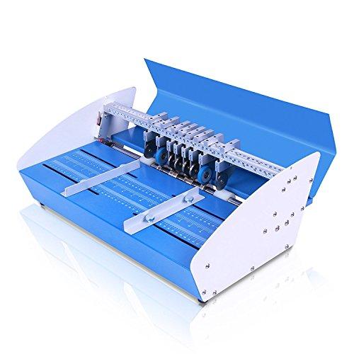 ZauberLu 3 In 1 Rillmaschine 46CM Elektrische Creasing Maschine Für Papier Profi Nutmaschine Einstellbare - Industrie Schieben