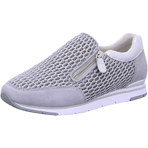 Gabor Fashion, Sneakers Basses Femme Blanc (ice/stone 61)