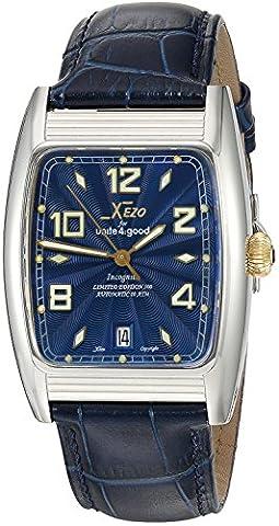 Xezo for Unite4:good Incognito Automatic Watch. Swiss Sapphire Crystal,Citizen Movement,Garnet
