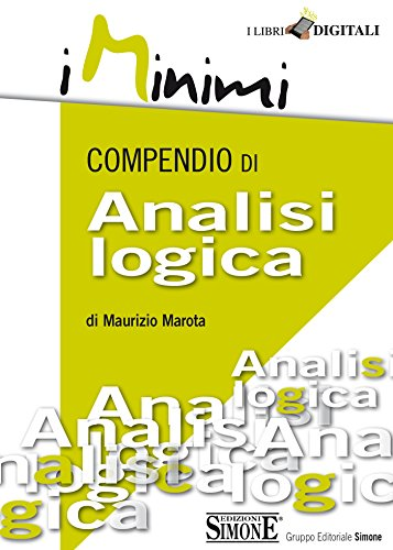 Compendio di Analisi logica