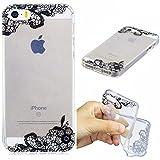 Coque iPhone 5 5S 5G / iPhone SE, Anlike Phone Case TPU Gel Ultra Fin Dessin Coloré...
