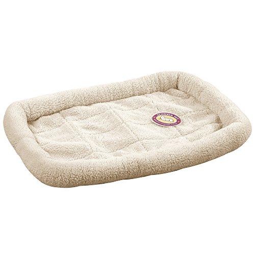 Artikelbild: Slumber Pet Sherpa Box Haustierbett mit Bumper Polsterung für Komfort in Box