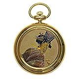 Urushi maki-e - Reloj de bolsillo JOGA Hishikawa Moronobu