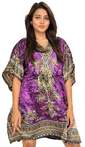 Kurta -  Camicia da notte  - Donna Purple