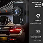Dash Cam Front and Rear Camera FHD 1080P with Night Vision and SD Card Included, 3 Inch IPS Screen Dash Cam for Cars, 170°Wide Angle Dashboard Camera DVR Motion Detection Parking Monitor G-Sensor HDR 13