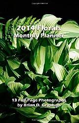 2014 Florals Monthly Planner