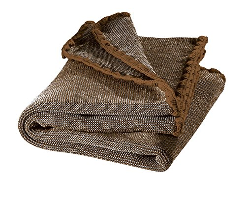 Disana Melange-Babydecke Wolle, Größe: 80x100 cm, 80x100 cm, haselnuß