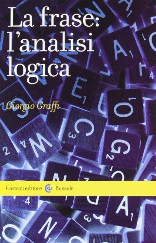 La frase: l'analisi logica