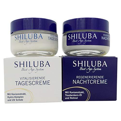 SHILUBA Best-Age-System Kaviar Vital - Tagescreme 50 ml + Nachtcreme 50 ml