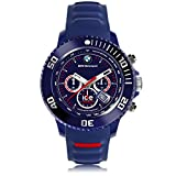 Ice-Watch - BMW Motorsport (sili) Dark blue - Blaue Herrenuhr mit Silikonarmband - Chrono - 000842 (Large)