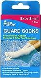 Aqua Safe Guard Swimming Verucca Socks - Beige, Medium