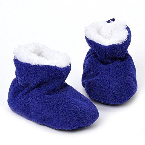 ESTAMICO , {Chaussures premiers pas pour bébé (garçon) Bleu bleu 12-18 mois bleu