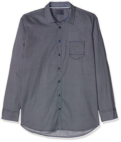 CALAMAR MENSWEAR Herren Freizeithemd 109730 Blau (Navy 44)