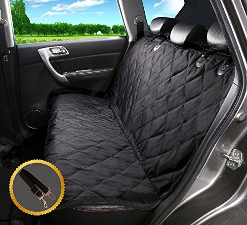Sitzbezug des Autos für Haustier, Alfheim verschleißfester Bezug des Hintersitzes für Haustier, ausgerüstet mit Anker und rutschfestem Gummibodenbezug(Auto, LKW, SUV)