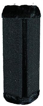 Trixie Griffoir d'angle pour Chats Noir 32 × 60 cm