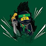 1art1 106996 The Lego Ninjago Movie - Lloyd Garmadon Poster Leinwandbild Auf Keilrahmen 30 x 30 cm